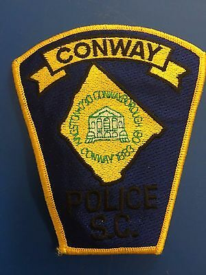 Conway South Carolina  Police   Shoulder Patch  Used