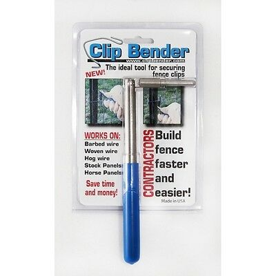 The Clip Bender T-Post Clip Installing Tool, The Best Clip Tool On Ebay, New