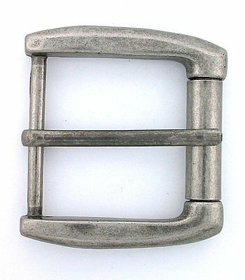 New 2 1/2 x 2 1/4 Inch Silver Color Belt Buckle CLOSEOUT