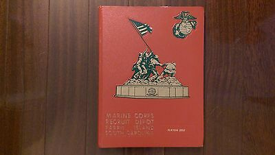 Marine Corps Recruit Depot Parris Island Platoon 2057 Book - July 1979
