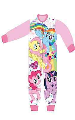 NEW Girls My Little Pony All in One  Sleepsuit  2-3,3-4,4-5,5-6,7-8 Years
