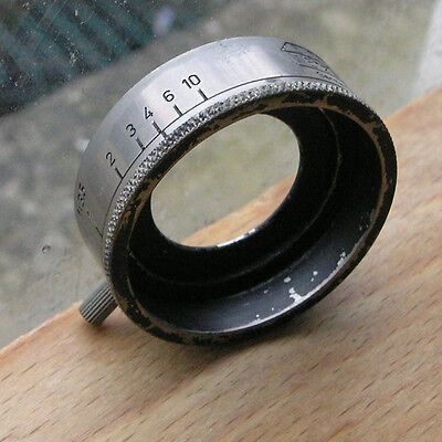 genuine Leica  ltm Elmar prewar aperture set Valau Lens hood A36 36mm clamp on