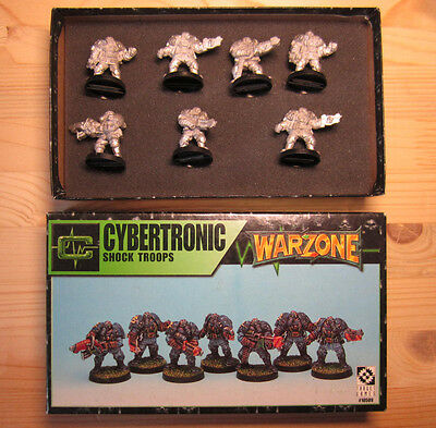 Cybertronic Shock Troops / Warzone Mutant Chronicles Target Games Warhammer