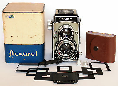 FLEXARET VII Automat Meopta TLR + ACCESSORY , Made in Czechoslovakia