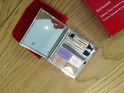 CLARINS ENCHANTED colour quartet & liner palette New and Boxed