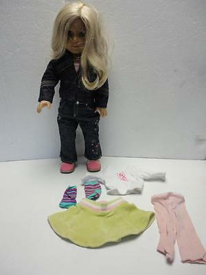 """American Girl 18"""" Doll JUST LIKE TRULY ME with Extra Outfit Nice"""