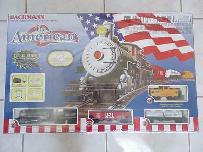 Bachmann the American Train Set HO Gauge New Factory Sealed!