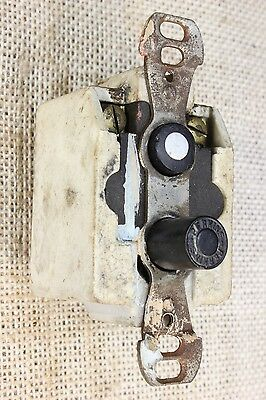 Push Button Light Switch tested old vintage antique 2 wire way Perkins