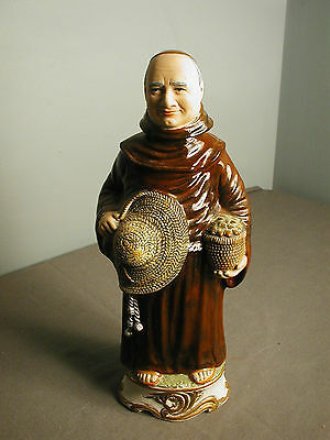 FRANGELICO DECANTER - MONK - IMPORTED FROM ITALY - LIQUEUR EMPTY  - 5 tf