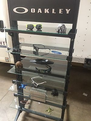 NEW Oakley Open Store Display Case - Custom Glass Shelves Sunglasses Collectable