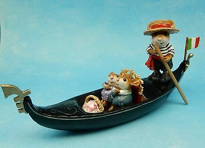 IN THE SAME BOAT by Wee Forest Folk, Mouse Expo 2016 Event Piece