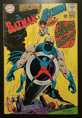 Brave and the Bold #77 - Batman and the Atom  -  (Apr-May 1968, DC) - VG/FN