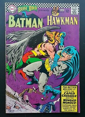 Brave and the Bold #70 - Batman and Hawkman  -  (Feb-Mar 1967, DC) - VG-