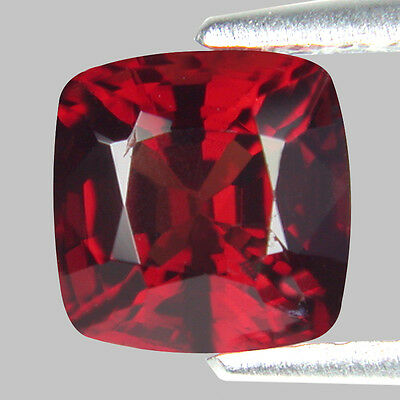 0.92 Ct Outstanding Top Luster Cushion Shape Unheated Burma  red Spinel