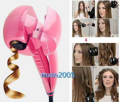 Magic Automatic Hair Styling Curling Curler Iron Roller Machine Ceramic