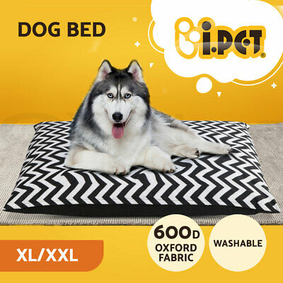 i.Pet Pet Bed Mat Mattress Dog Cat Pad Winter Warm Cushion Pillow Soft Canvas