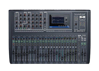 Soundcraft Si impact 40-input Digital Mixing Console 32-in/32-out USB Interface