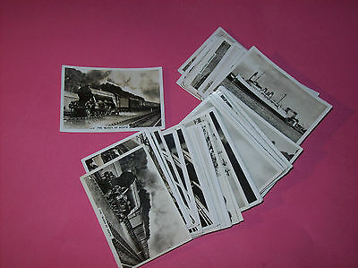 British Railways Senior Service Pattreiouex Pick   cigarette cards Steam trains