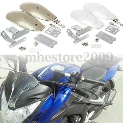 Motorcycle Hand Guard Wind Deflector Protector Shield For Harley Cruiser Custom