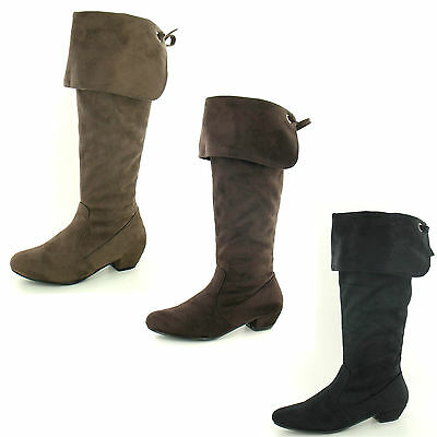 Wholesale Ladies Knee High Boots 14 Pairs Sizes 4-8  F50203