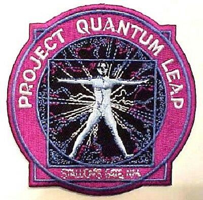 QUANTUM Leap Project - TV Serie Patch - Uniform Aufnäher neu