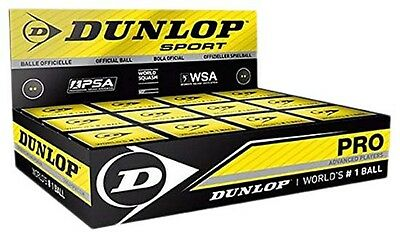 Dunlop Pro 12 Ball 12 Units Black Squashbälle