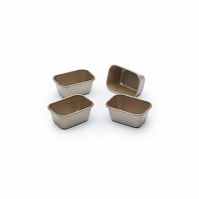 Paul Hollywood Mini Loaf Tins, 4 Piece Non-Stick