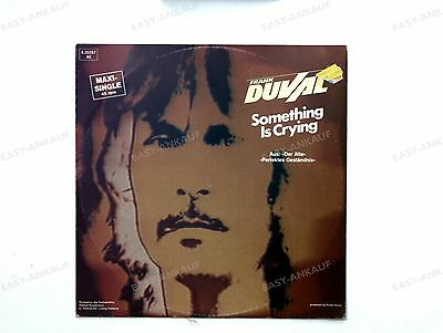 Frank Duval - Something Is Crying GER Maxi 1984 //1