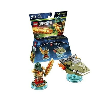 Cragger (Legends of Chima) Lego Dimensions Fun Pack - Brand new!