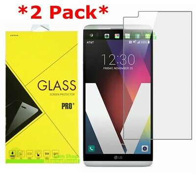 2-Pack Premium Tempered Glass Screen Protector For LG V20
