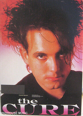 THE CURE POSTCARD Vintage ' ROBERT SMITH ' OLIVER BOOKS 1994 UK Mint 3 ONLY