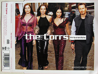 The CORRS Irresistible UK PROMO SLEEVE (no CD)