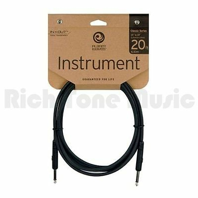 Planet Waves PW-CGT-20 Classic Series 1/4 inch Instrument Cable