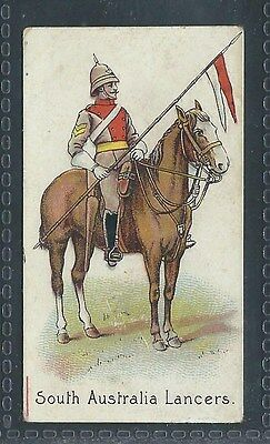 Hill's Colonial Troops Sweet American South Australia Lancers