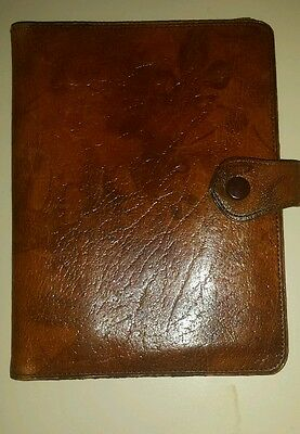 Vintage Real Calf Leather Large Wallet Made in Britain