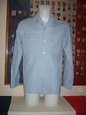 POLICE Chemise manches longues taille 39 1983