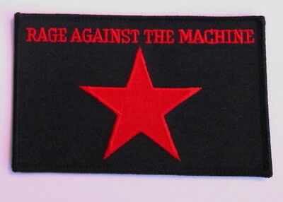 Rage Against The Machine Embroidered Patch
