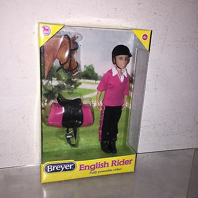 Breyer English Rider Abigail Figure Damaged Box