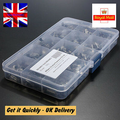 15 value 600pcs Bipolar Transistor TO-92 Box Kit A1015 - 2N5551 UK Seller
