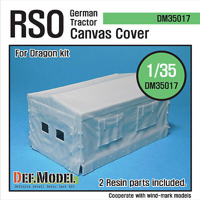 German RSO Tractor Canvas Cover (for Dragon 1/35) DM35017