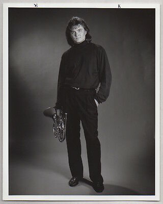 RICHARD TODD French Horn player VINTAGE PHOTO Classical, Jazz Musician