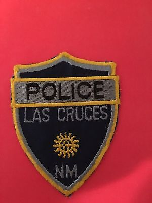 Las Cruces New Mexico Police Patch  Used