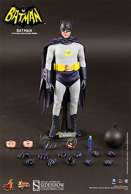 Hot Toys BATMAN 1966 TV 1/6 SCALE FIGURE Adam West *NEW* Factory Sealed