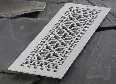 *Reggio METAL Floor Furnace Grate/GRILLE Scroll Design 824 1992