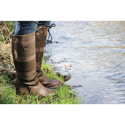 New Dublin Wide Calf River Boots - Chocolate Brown - Various Sizes