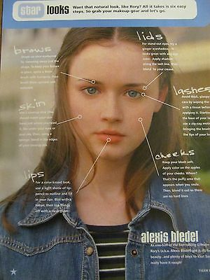 Alexis Bledel, Gilmore Girls, Dream Street, Jesse McCartney, Full Page Clipping