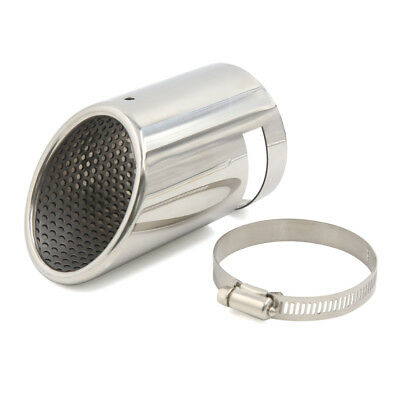 75mm Inlet Welding Bevel Outlet Tip Car Tail Exhaust Muffler Pipe