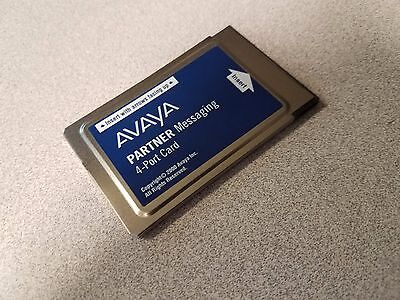 Avaya 4 Port Voicemail Messaging Card 90 Day Warranty
