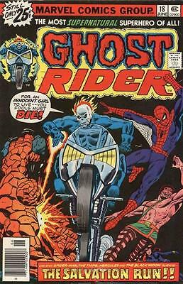 GHOST RIDER #18 F, Spider-Man, Thing, Champions, Marvel Comics 1976