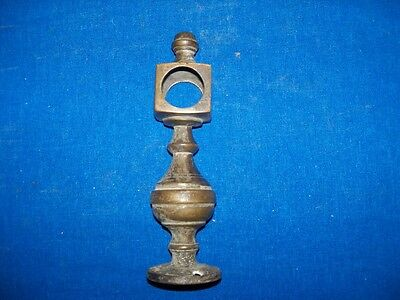 Antique Brass Bed Post Rail Holder Hardware Part